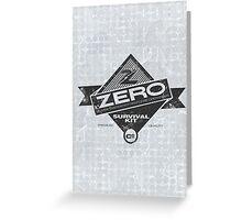 ZERO Hero Greeting Card