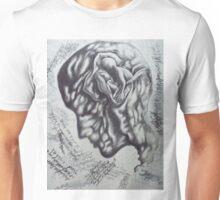 held in mind. 10''x13''. grapjite, oil on wood. adam sturch. Unisex T-Shirt