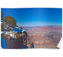 Winter Canyon Poster