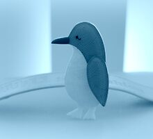 Little Penguin Blue by Evita