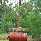 The Conifers Mailbox by Penny Smith