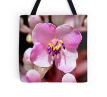Lone Pink Flower Bloom  Tote Bag