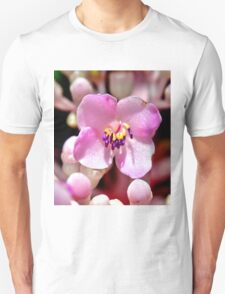 Lone Pink Flower Bloom  T-Shirt