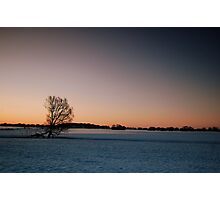 Sunrise over the Yarrow Valley - Lancashire Photographic Print