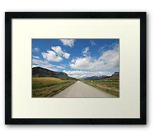 The Road To Glen Davis Framed Print