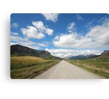 The Road To Glen Davis Canvas Print