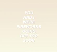 Fall Out Boy Fourth of July Lyrics by impalecki