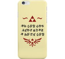 Hylian Letter iPhone Case/Skin