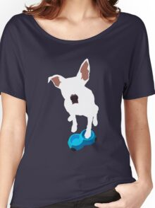 Puppy Desires Dinner Women's Relaxed Fit T-Shirt