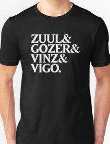 Zuul&Gozer&Vinz&Vigo Unisex T-Shirt