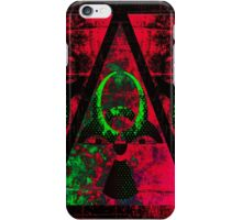 Biohazardly Radioactive part one iPhone Case/Skin
