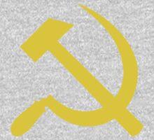 Communism - Soviet Union - Hammer Sickle Star One Piece - Long Sleeve