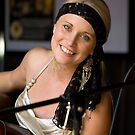 Aleyce Simmonds at the Cricketers Arms 2 by Malcolm Katon