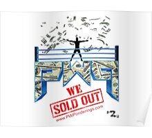 Pro Wrestling Ponderings - WE SOLD OUT Poster