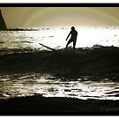 Sunrise Surfer by Glennfen