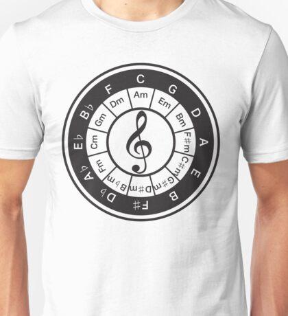 Circle_of_5th Unisex T-Shirt