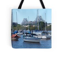 Brisbane City Story Bridge Tote Bag