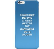 Fall Out Boy Miss Missing You Lyrics iPhone Case/Skin