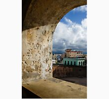 Caribbean Colors of San Juan, Puerto Rico From a Window of San Cristobal Castle Unisex T-Shirt