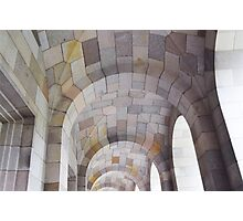 Arched Ceiling Photographic Print