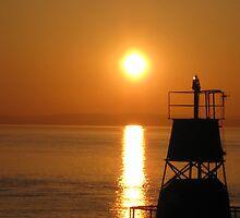 Sunset at Portishead by Iani