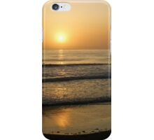 California Surfing Sunset - Pacific Beach, San Diego, California iPhone Case/Skin
