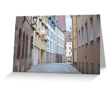 Quiet Empty Street Greeting Card