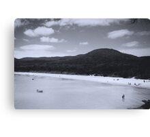 Quiet Beach Canvas Print