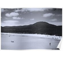 Quiet Beach Poster