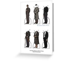 Christopher Plummer Paper Dolls Greeting Card