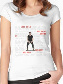 Just Do It Women's Fitted Scoop T-Shirt