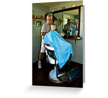 The Barber Shop-PA Heritage Festival Greeting Card