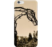 Wooden Horse at Sunset iPhone Case/Skin