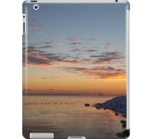 A Long Line of Canada Geese at Sunrise iPad Case/Skin