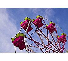 The Ferris Wheel-Endless Mountains Maple Festival Photographic Print