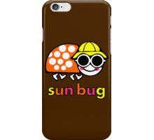 VW Sun Bug (colored text) iPhone Case/Skin