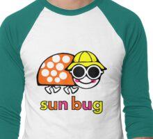 VW Sun Bug (colored text) Men's Baseball ¾ T-Shirt