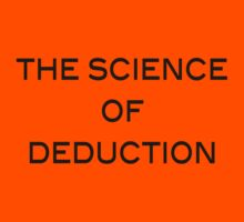 The Science Of Deduction Kids Clothes