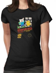 Super Adventure Bros! Womens Fitted T-Shirt