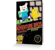 Super Adventure Bros! Greeting Card