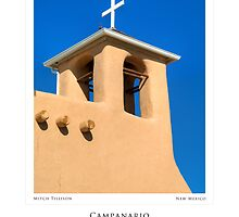 Campanario de San Francisco de Asis (poster version) by Mitchell Tillison