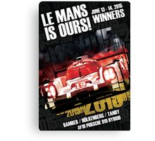 Le Mans Is Ours! Canvas Print