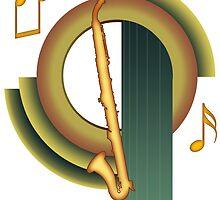 Deco Alto Clarinet by zenguin