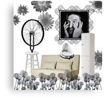 Duchamp worked for IKEA for nearly 6 years, contemplating the myriad possiblities of assembling. Canvas Print