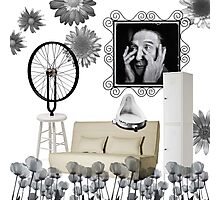 Duchamp worked for IKEA for nearly 6 years, contemplating the myriad possiblities of assembling. Photographic Print