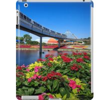 Flying Over Flower & Garden iPad Case/Skin