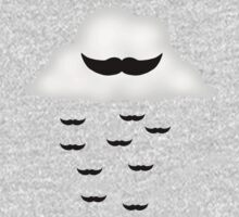 Mustache Cloud One Piece - Long Sleeve