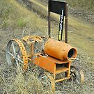 Orang Tractor Box by Penny Smith