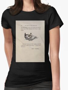 The Queen of Pirate Isle Bret Harte, Edmund Evans, Kate Greenaway 1886 0062 Sleep Womens Fitted T-Shirt