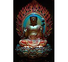 Buddha from Tooth Relic Temple Singapore. Photographic Print
